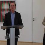 Maxim Wakultschik, Ulrich Matysik und Birgit Ludwig-Weber