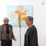 Die Künstlerinnen Roswitha Ritterbach und Ingeborg Mayr