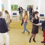 Eva Vettel, Bodo Gerono, Besucher der Ausstellung