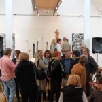 Gäste der Ausstellung