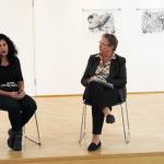 Künstlergespräch Zipora Rafaelov und Birgit Ludwig-Weber