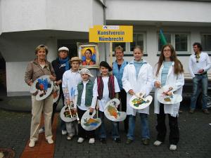 Jugendkunstschule beim Umzug anlässlich der 875-Jahrfeier Nümbrecht 2006