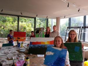 Jugendkunstschule mit Anette Marks 2013